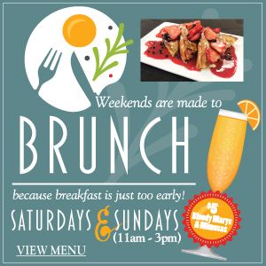 Asheville Travinia Brunch Saturday and Sunday